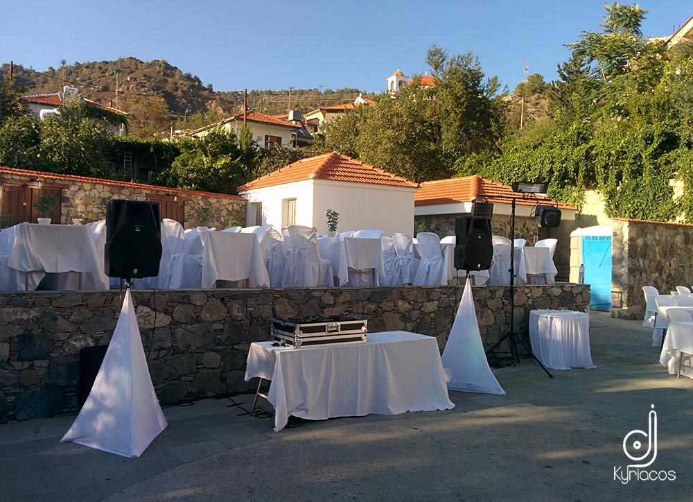 Equipment_Wedding_Setup